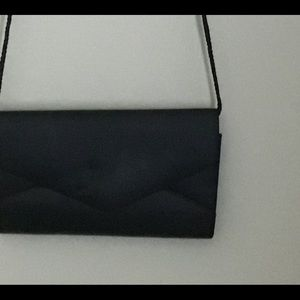 Bloomingdale's Bags - Satin evening event bag
